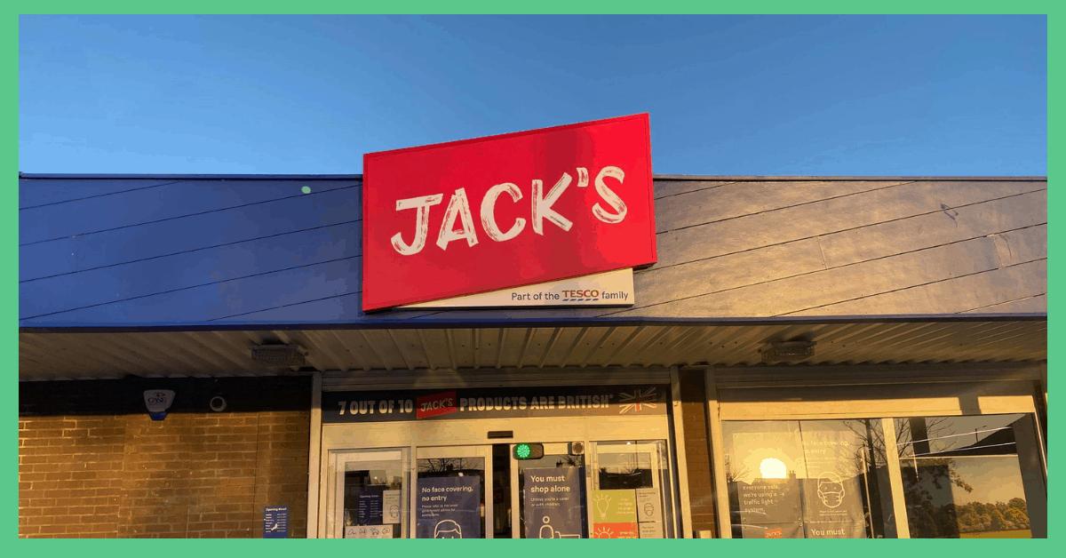 Jack's supermarket storefront..