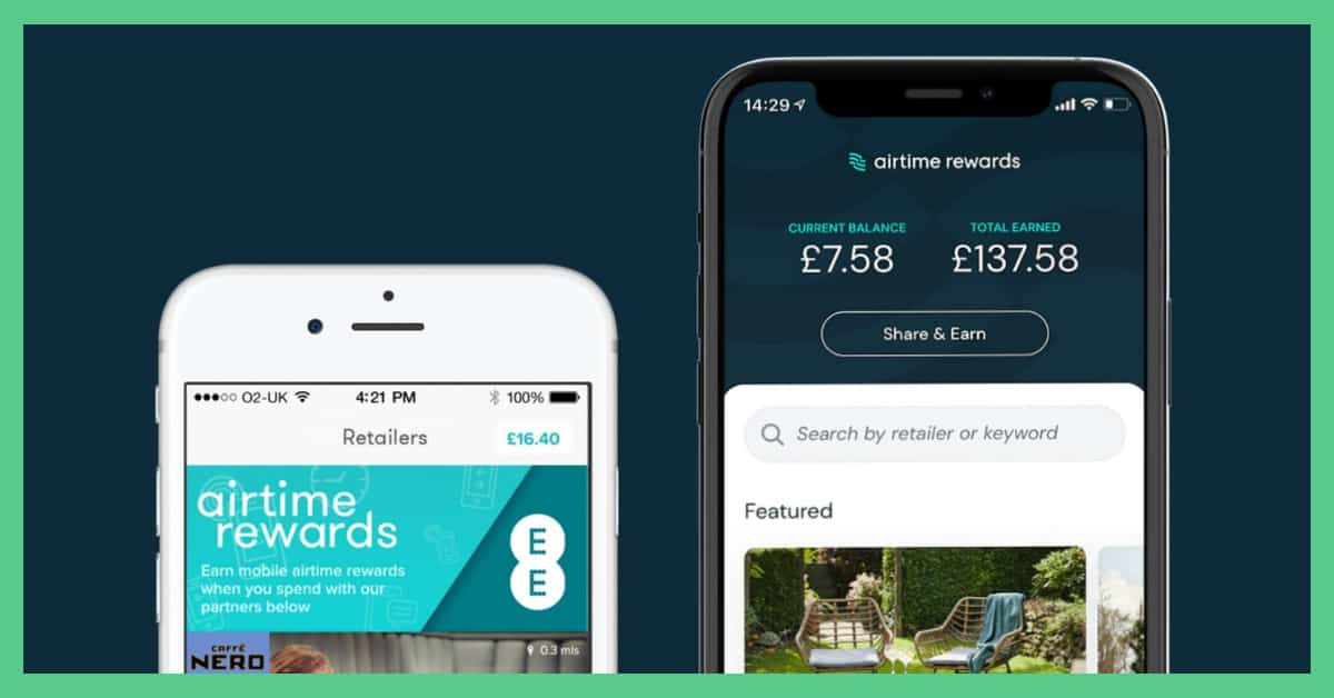 Airtime Rewards promo code image, which was taken form the Airtime Rewards website.