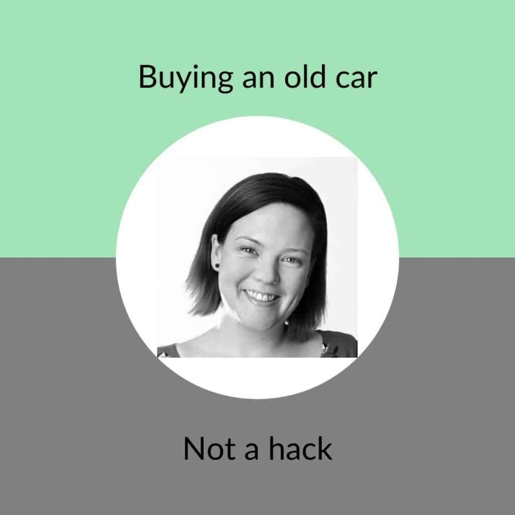 buying an old car - not a hack