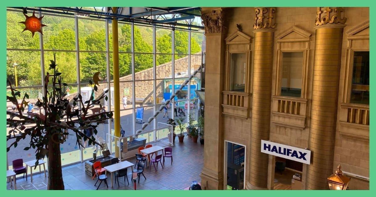 EUREKA science museum in Halifax West Yorkshire