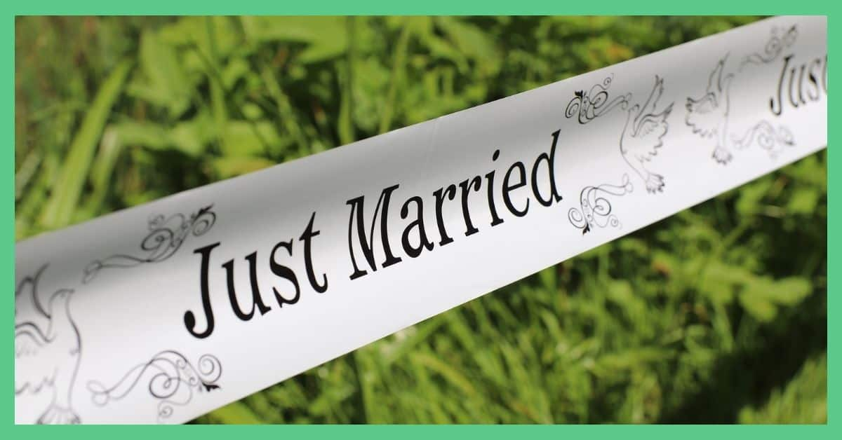 Just Married - A change of surname - the ultimate checklist